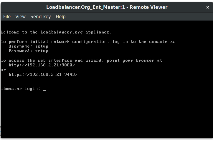 Loadbalancer org Enterprise VA with oVirt(RHEV) 4 1