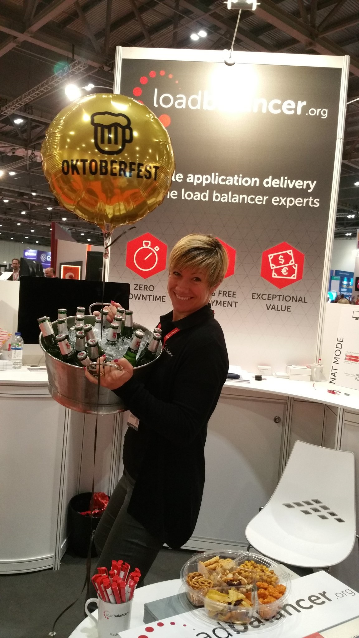 Oktoberfest package delivered to our stand