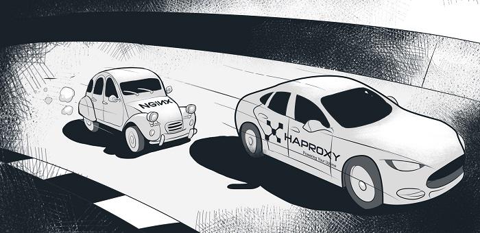 NGINX vs HAProxy — a bit like comparing a 2CV with a Tesla?