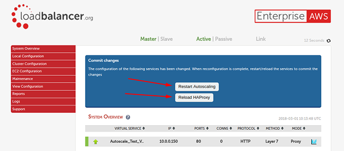 How do you combine AWS Auto Scaling with a proper load balancer?