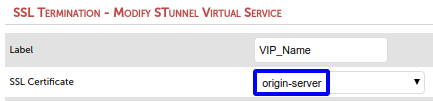 Use certificate in STunnel