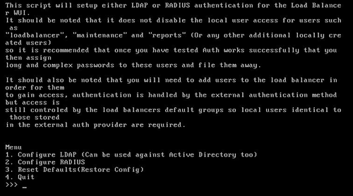 How do I secure my load balancer with Active Directory, LDAP