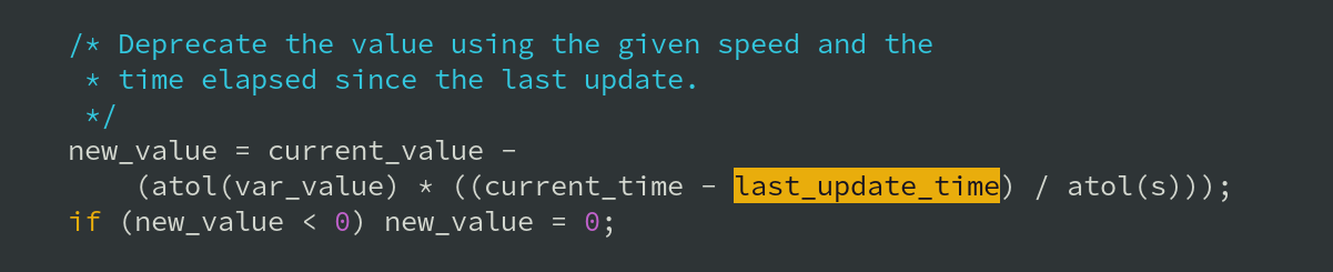 Proving how the deprecatevar function works (from ModSecurity's re_actions.c)
